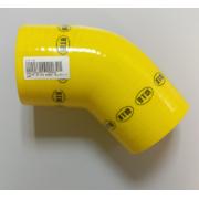 ΚΟΛΛΑΡΟ ΑΕΡΑ ΣΙΛΙΚΟΝΗΣ ΓΩΝΙΑ 135° Φ:90mm Κίτρινο (DTM)