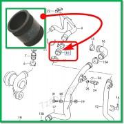ΚΟΛΛΑΡΟ ΑΕΡΑ ΤΟΥΡΜΠΙΝΑΣ TURBO PRESSURE HOSE PIPE AUDI - SEAT - SKODA - VW [ 1H0145834E ] (TOPRAN)