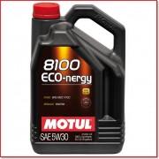 5W-30 8100 ECO-NERGY 100% SYNTHETIC 5LT MOTUL