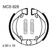 ΣΙΑΓΩΝΕΣ ΦΡΕΝΩΝ ΣΕΤ BRAKE SHOES KTM - PEUGEOT [ MCS828 ] (LUCAS)