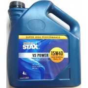15W-40 VS POWER Technosynthese 4 Lt STAX OIL