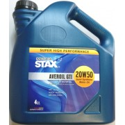 20W-50 AVEROIL GTI SEMI SYNTHETIC 4 Lt STAX OIL