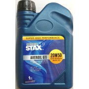 20W-50 AVEROIL GTI SEMI SYNTHETIC 1 LT STAX OIL