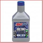 AMSOIL MOTO synthetic oil 10w40 946ml.