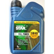 5W-40 Full Power Full Synthetic Motor Oil 1Lt STAX OIL