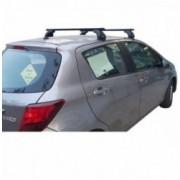 Kit Μπάρες Αλουμινίου - Πόδια για Toyota Yaris 2011+ ΜΠ.TY.12 NORDRIVE