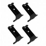 CLAMP KIT 4 τεμ. για μπάρες SNAP STEEL & SNAP ALU K-0 ΧΕL.N21410 NORDRIVE
