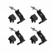 CLAMP KIT 4 τεμ. για μπάρες SNAP STEEL & SNAP ALU K-3 ΧΕL.N21413 NORDRIVE