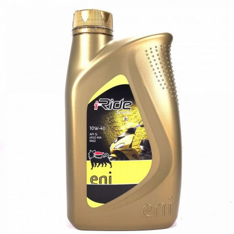 10W-40 I-RIDE SCOOTER 1LT AGIP-ENI