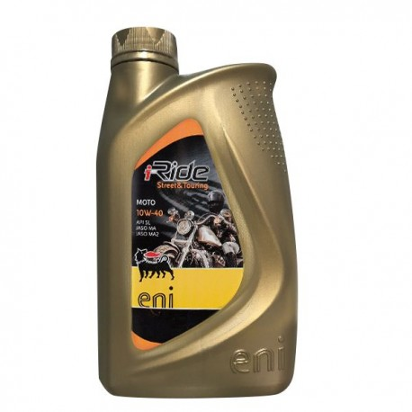 10W-40 I-RIDE STREET AND TOURING 1 LT AGIP-ENI