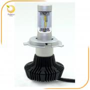 Κίτ ΛΑΜΠΕΣ LED H4-VL2 22W 12-24Vdc 6500K/+2x T10 (HELECO)