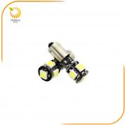 ΣΕΤ ΛΑΜΠΕΣ LED 2x-BA15S 5W smd3030 CANBUS 6000K BLISTER (HELECO)