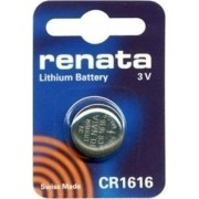 ΜΠΑΤΑΡΙΑ ΛΙΘΙΟΥ BUTTONCELL LITHIUM BATTERY 3V CR1616 RENATA