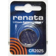 ΜΠΑΤΑΡΙΑ ΛΙΘΙΟΥ BUTTONCELL LITHIUM BATTERY 3V CR2025 RENATA