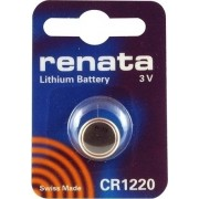 ΜΠΑΤΑΡΙΑ ΛΙΘΙΟΥ BUTTONCELL LITHIUM BATTERY 3V CR1220 RENATA