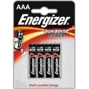 ΜΠΑΤΑΡΙΑ ΑΛΚΑΛΙΚΗ 4 ΤΕΜΑΧΙΑ ALKALINE POWER AAA LR03 BL4 1.5V ENERGIZER