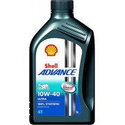 10W-40 ADVANCE 4T ULTRA 1LT SHELL