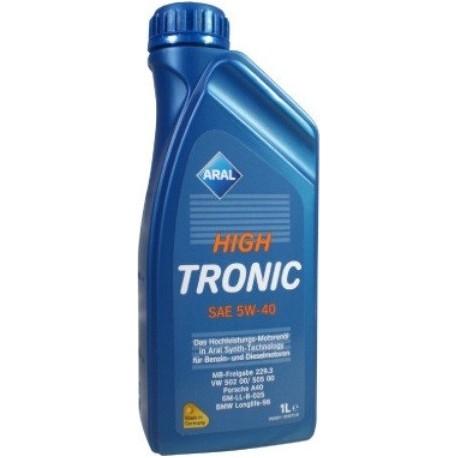 5W-40 HIGH TRONIC 1 LT ARAL