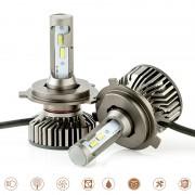 ΣΥΣΤΗΜΑ ΦΩΤΩΝ LED K6 H4 12-24V/46W/6000K 14267 AUTOLINE
