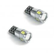 ΣΕΤ ΛΑΜΠΕΣ 6 LEDS T10 wedge-Canbus 12V 14193 AUTOLINE