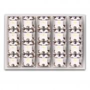 Λάμπες πλαφονιέρας με 20 LED 35x50mm λευκό 13341 AUTOLINE