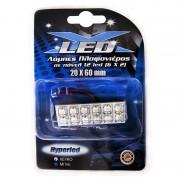 Λάμπες πλαφονιέρας με 12 LED 20x60mm λευκό 13337 AUTOLINE