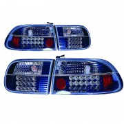 ΦΑΝΑΡΙΑ ΠΙΣΩ LED HONDA CIVIC 92 3D 10206 AUTOLINE