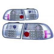 ΦΑΝΑΡΙΑ ΠΙΣΩ LED HONDA CIVIC 92 3D 10205 AUTOLINE