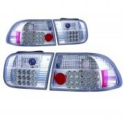 ΦΑΝΑΡΙΑ ΠΙΣΩ LED HONDA CIVIC 92 2/4D 10202 AUTOLINE