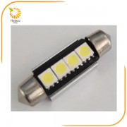 ΣΕΤ ΛΑΜΠΕΣ LED-2x FESTOON 5050 39mm CANBUS 6000K (HELECO)