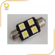 ΣΕΤ ΛΑΜΠΕΣ LED-2xFESTOON 5050 36mm CANBUS 6000K (HELECO)