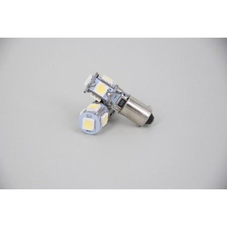 ΛΑΜΠΑ ΦΩΤΩΝ ΘΕΣΗΣ ΛΕΥΚΟ LED BA9S (T4W) WHITE CANBUS SMD5050 12V/2W/6000K/100LM (10.11.01.00023) HELECO