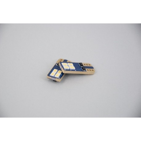 ΛΑΜΠΑ ΦΩΤΩΝ ΘΕΣΗΣ ΛΕΥΚΟ LED WHITE Τ10 (W5W) SMD3623 CANBUS 9-30V/2W/6000K/250lm (10.11.01.00138) HELECO