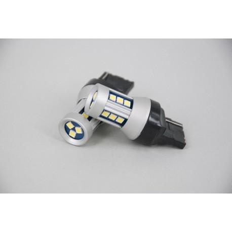 ΛΑΜΠΑ ΦΩΤΩΝ ΟΠΙΣΘΕΝ/ΦΡΕΝΩΝ ΛΕΥΚΟ LED Τ20 (W21W) WHITE CANBUS SMD3030 12V/5W/6000K/400LM (10.11.01.00035) HELECO
