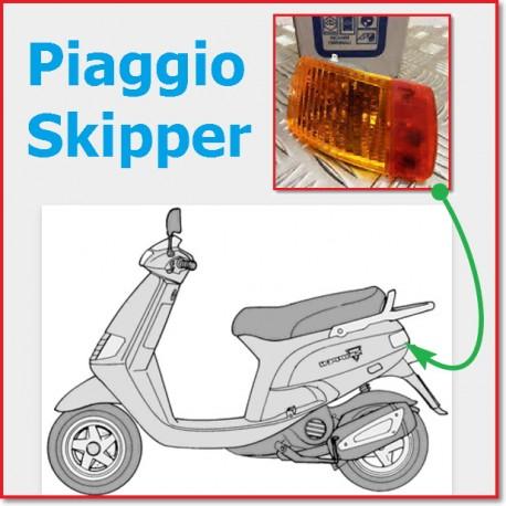 ΦΛΑΣ ΠΙΣΩ ΑΡΙΣΤΕΡΑ Piaggio Skipper 291030 PIAGGIO