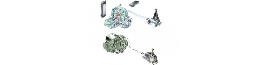Σύστημα Μετάδοσης κίνησης (Συμπλέκτης - Κιβώτιο ταχυτήτων/διαφορικό - Άξονες)
