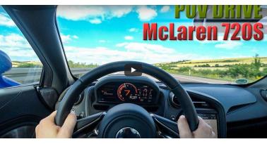 Δείτε μια McLaren 720S να πιάνει τα 300χλμ/ώρα για πλάκα!