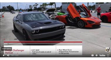 Οι 1150 ίπποι του πειραγμένου Challenger Hellcat δεν είναι αρκετοί για να κερδίσουν μια McLaren 720S