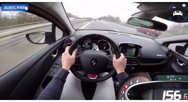 VW Polo GTI 2018 vs 2018 Renault Clio RS TROPHY - Επιτάχυνση και τελική ταχύτητα.