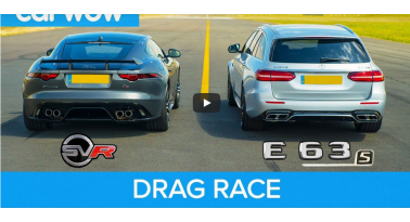 Jaguar F-Type Vs Mercedes-AMG E63! Ποιο θα κερδίσει;
