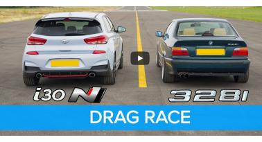 E36 BMW 328i εναντίον Hyundai i30 N! Ποιο θα κερδίσει;